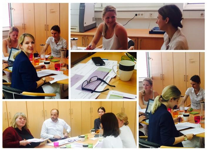 Analyse, Projektteam STÄRKE, HS Fresenius, IW Köln, ifaa, IAD, Schneppenheim, EFQM