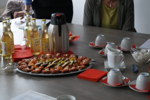 Kölsch, Köstlihckeiten, Halve Hahn, Fassbrause, Buffet, Essen, Foodporn, STÄRKE, ESF-Projekt STÄRKE, Konsortialtreffen